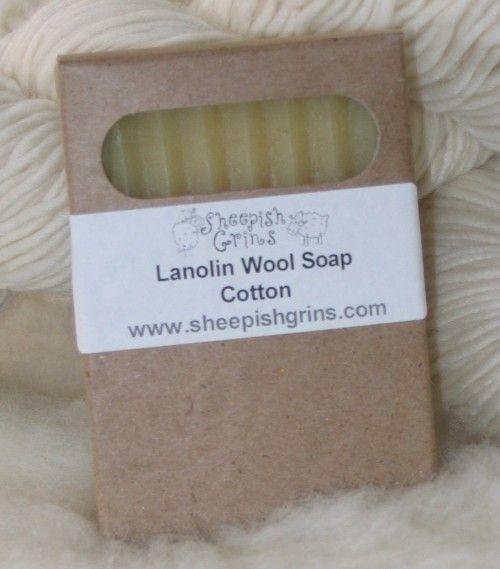 Lanolin Wool Wash Bar - to spot clean wool soakers