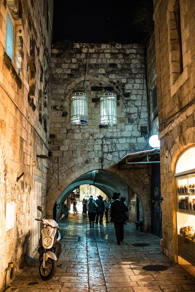 Jewish Quarter, Old City, Jerusalem, Israel by Harold ...   Cities Surrounding Jerusalem