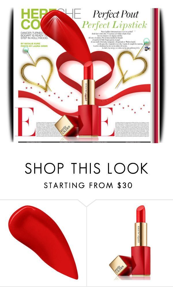 """Perfect Pout: Matte Lipstick"" by amerlinakasumovic ❤ liked on Polyvore featuring Belleza, Andrea, Lipstick Queen, Estée Lauder y mattelipstick"