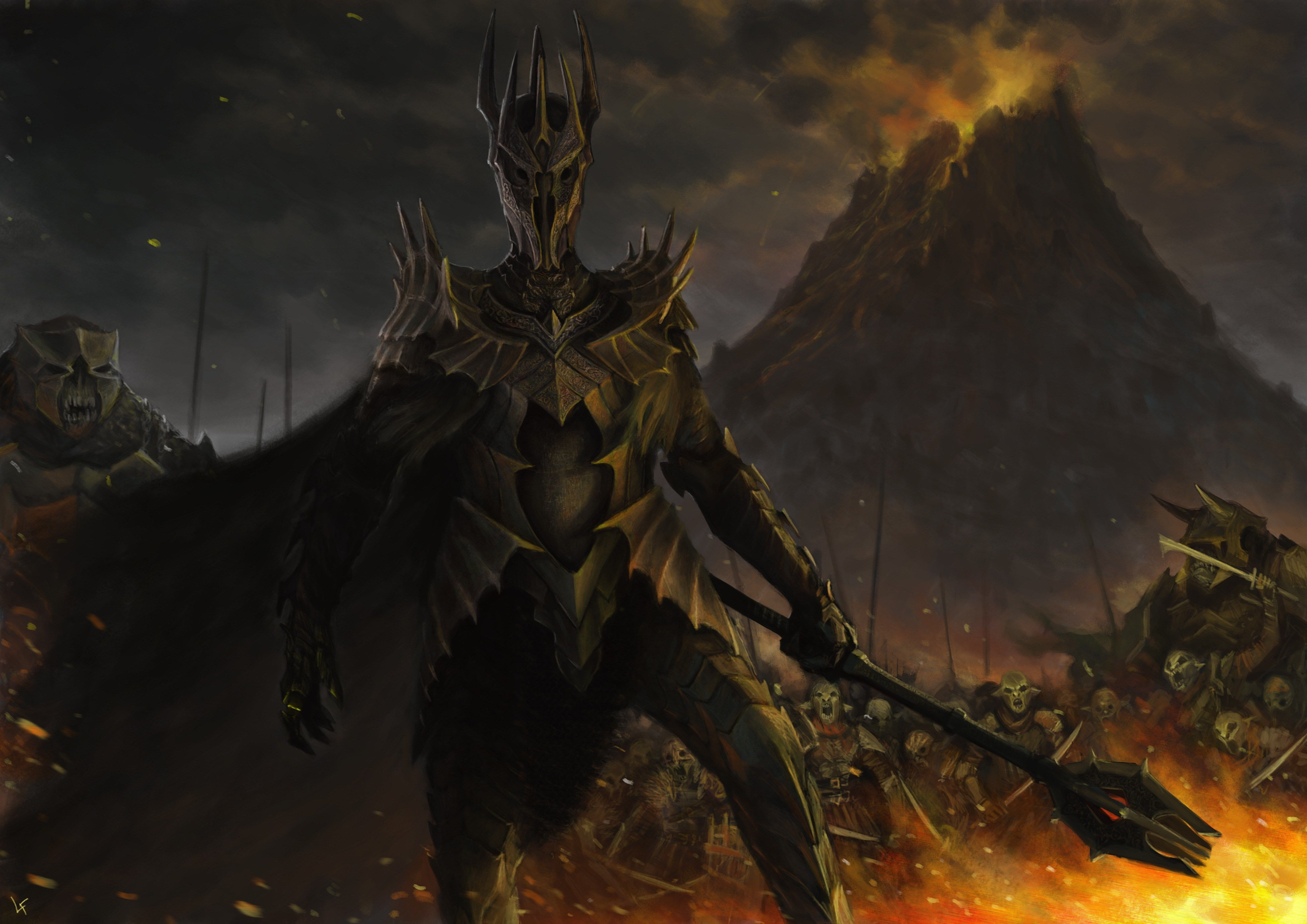 Warrior For Desktop Hd 4961x3508 Lord Sauron Lord Of The Rings Dark Lord