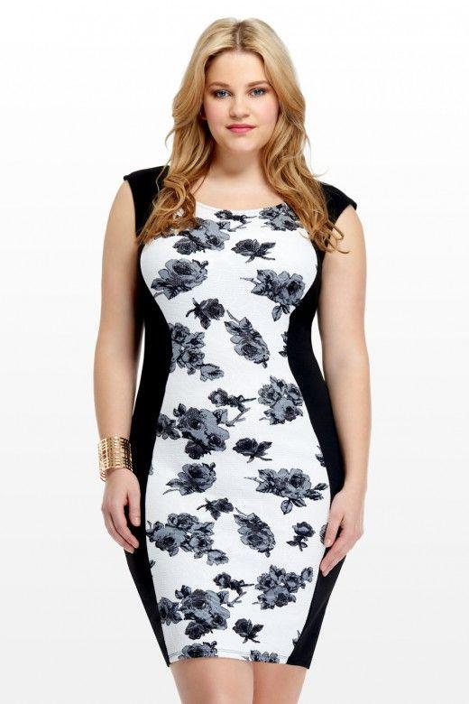 Plus Size Colorblock Dresses Spring 2018 Fashion Dresses