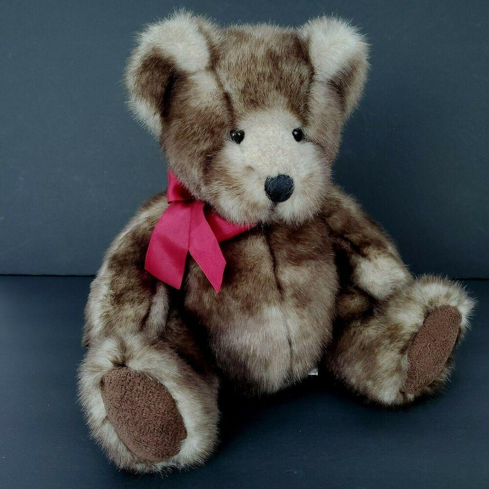 Russ Berrie Danny Teddy Bear Stuffed Animal Made For