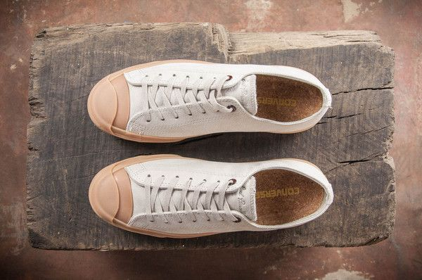 8b6600fdcd35 Converse Jack Purcell Trainers Aquatic Cream Leather