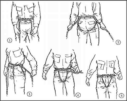 Emergency Harness With Rope