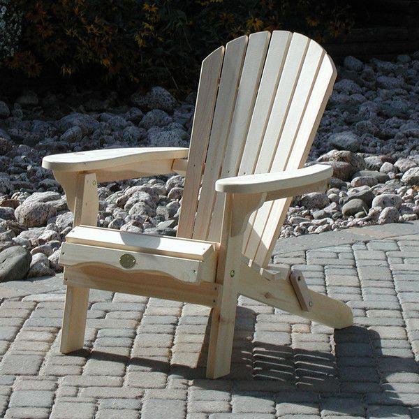 Bear Chair Folding Adirondack Chair Kit Bc300p
