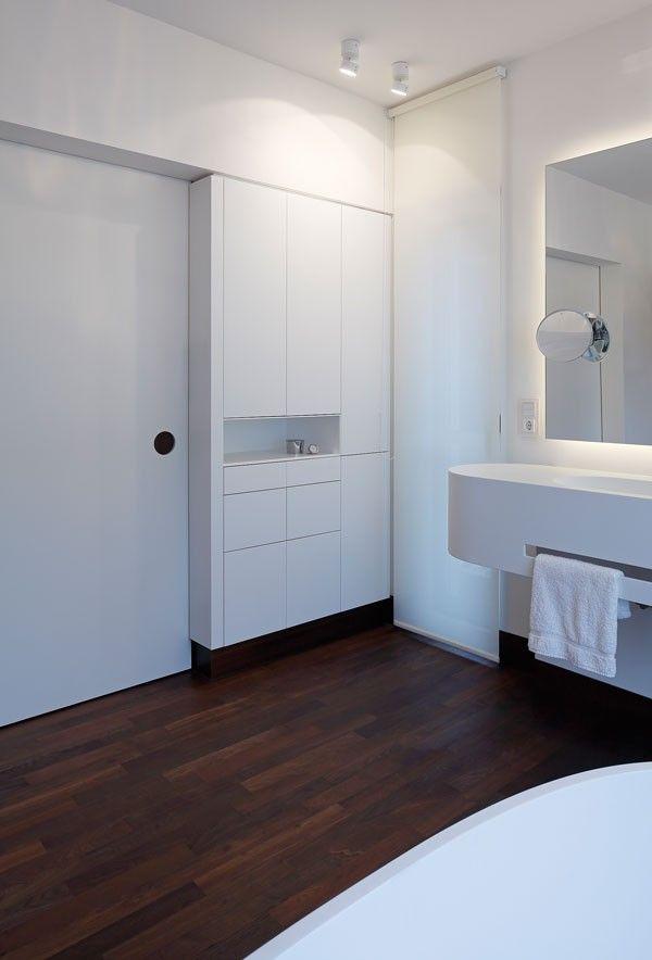 raumkontor #innenarchitektur #düsseldorf #design #innenausbau - schiebetür für badezimmer