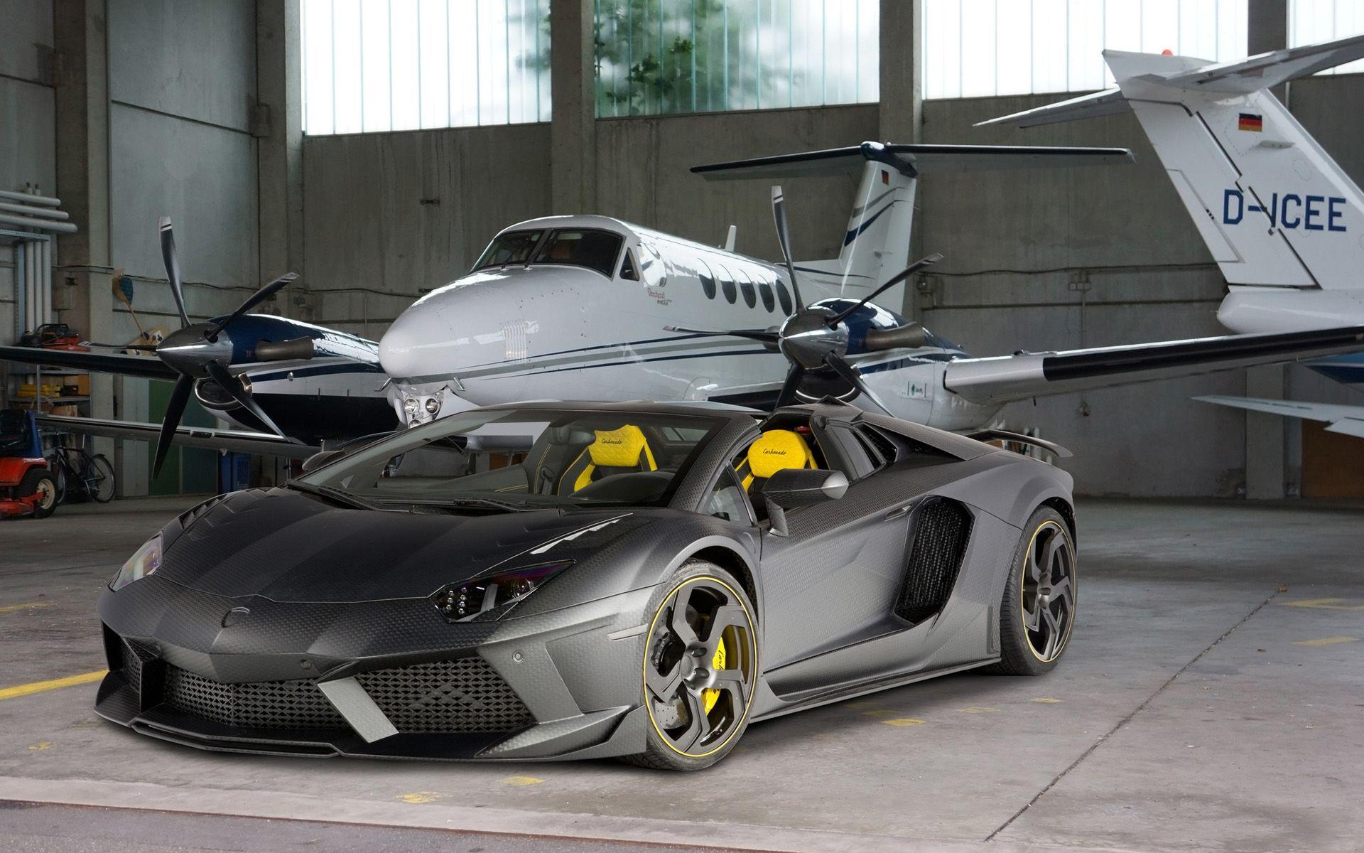 2014 Mansory Lamborghini Aventador Carbonado Roadster Car