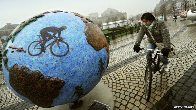 Copenhagen is already seen as one of the world's cycling capitals. World Bicycle