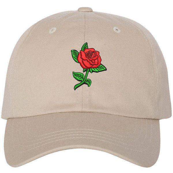 b9d90090292 RED ROSE Stem Dad Hat