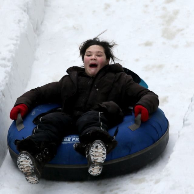 Meridian Winter Blast embraces cold weather with tubing, skating, zip lining and more in downtown Detroit this weekend.