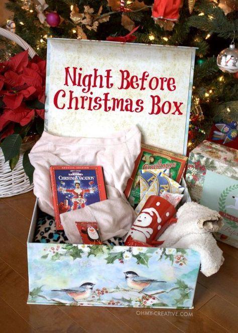 Night Before Christmas Box Start A Family Tradition | The WHOot - Night Before Christmas Box A Family Tradition Christmas Ideas