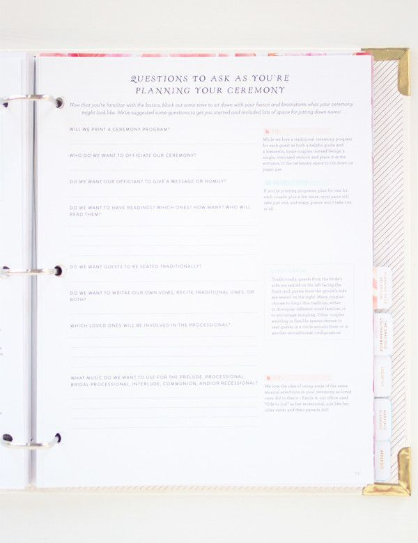 The Southern Weddings Planner I\u0027m not saying I need this right now