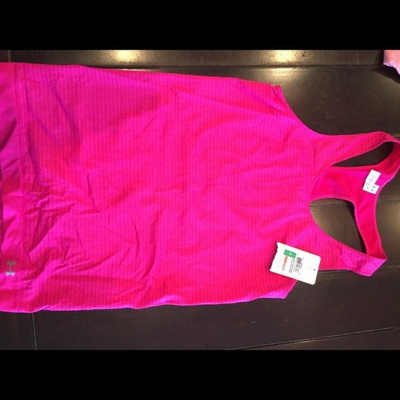 Pink Under Armour Tank Brand new never worn !!! Under Armour Tops Tank Tops