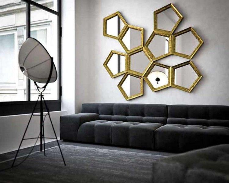Living Room Decor Ideas   Extravagant Wall Mirrors | Luxury Mirrors |  Modern Mirros | Interior