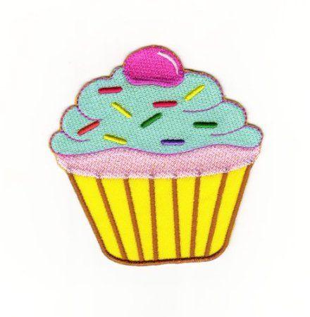 PATCHES DONUT cupcake AUFBÜGELN Bügelbild Aufnäher Applikation Abzeichen DIY
