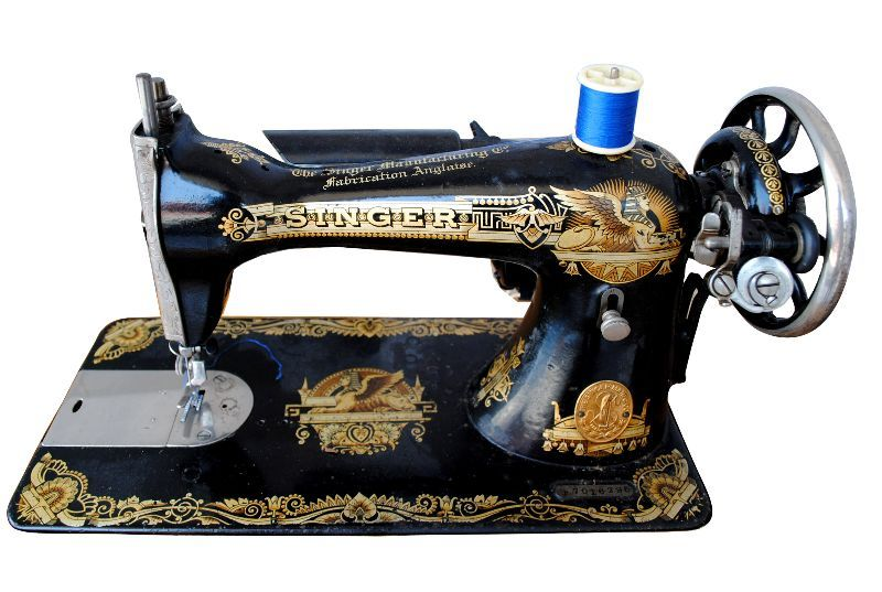 machine coudre singer egyptomania vers 1900 sewing singer model 27 sphinx egyptian