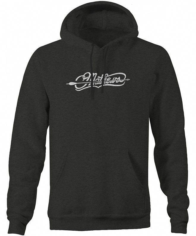 Matthews Arrow Thru Bow Hunting Sweatshirt - Charcoal - CB12MAHHTBV,Men's Clothing, Active, Active H...