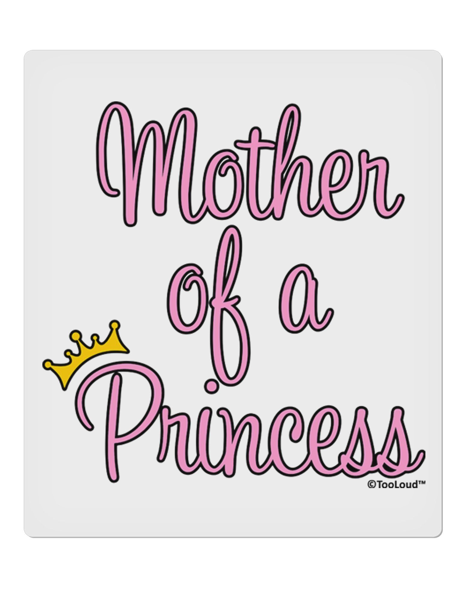 Mother of Princess embroidery