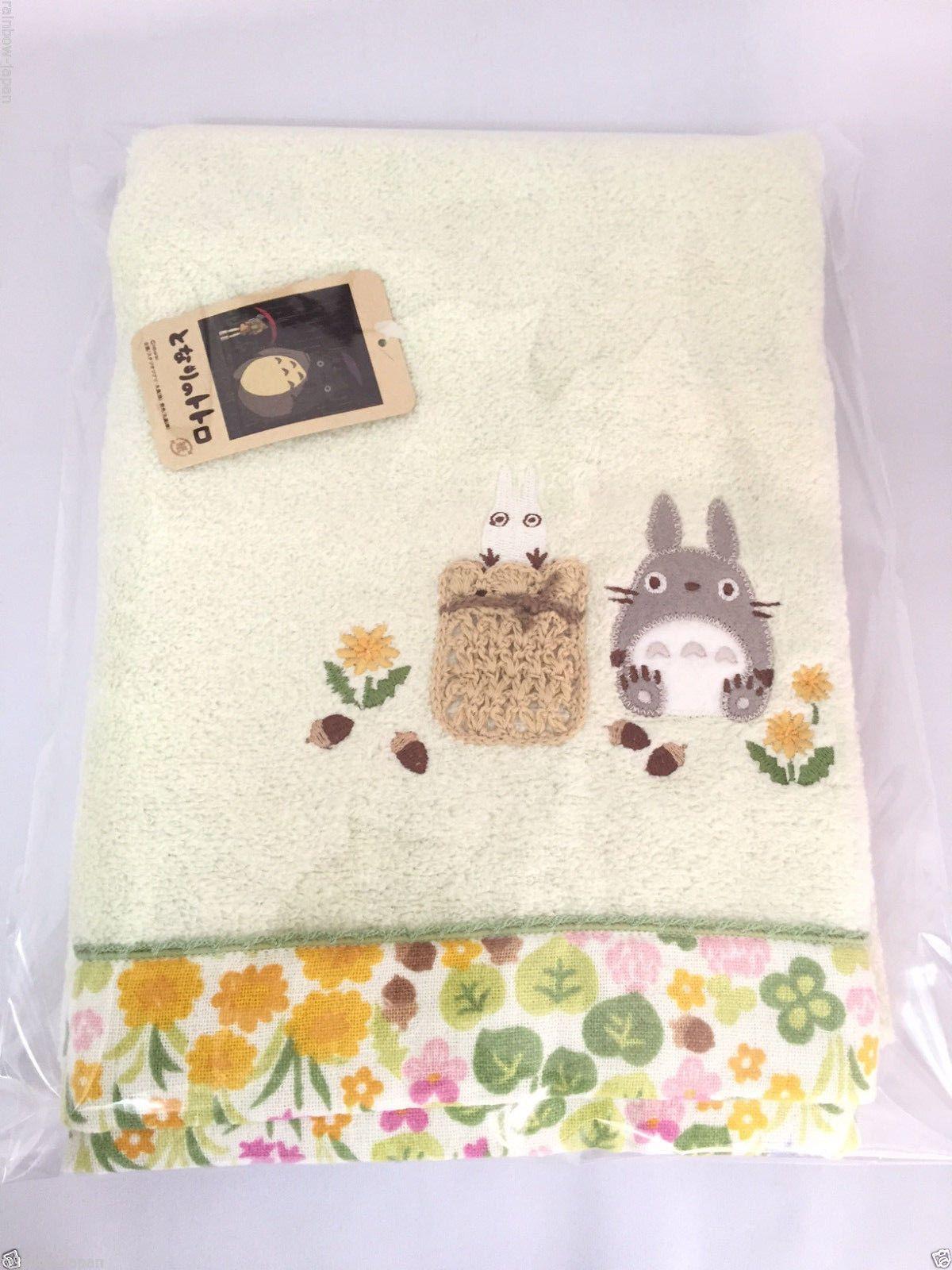 My Neighbor Totoro Bath Towel 120 x 60cm 03311 Cotton 100% Studio Ghibli Japan