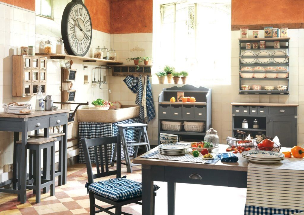 comptoir de famille bois bleu ambiance comptoir de. Black Bedroom Furniture Sets. Home Design Ideas