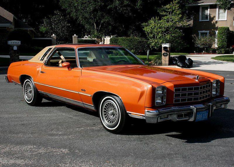 1977 Chevrolet Monte Carlo Landau Chevrolet monte carlo