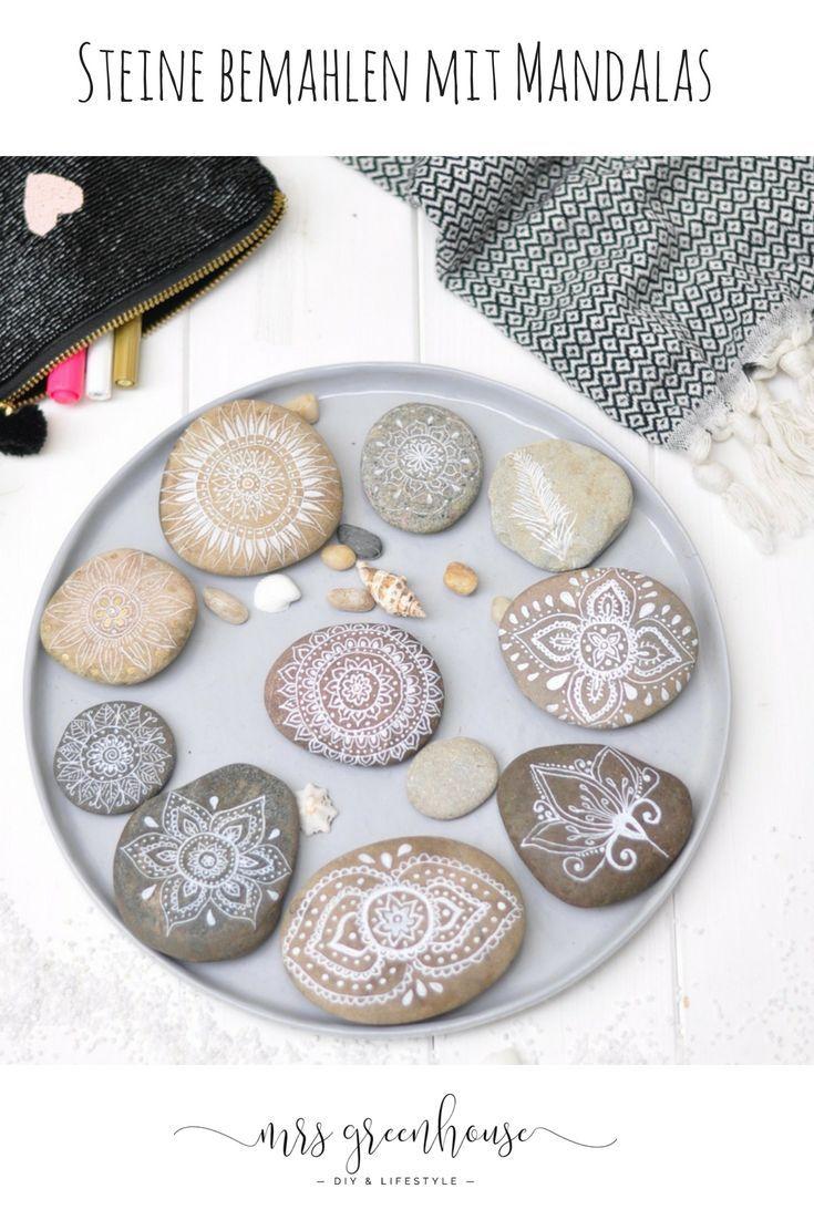 Ferien in Dänemark und feine Mandalas auf Steine malen #steinebemalengarten