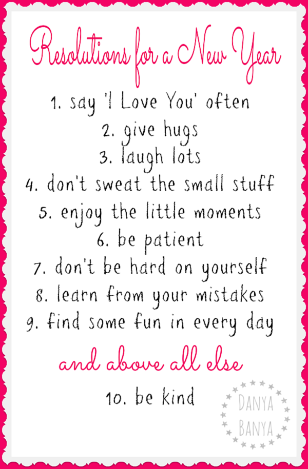 Positive New Year\'s Resolutions | Fun Sayings | Pinterest | Hug ...