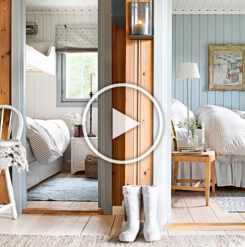 Photo of Bedrooms made for dreaming. Soverom i kalde farger. (Copyright: Per Erik Jæger)