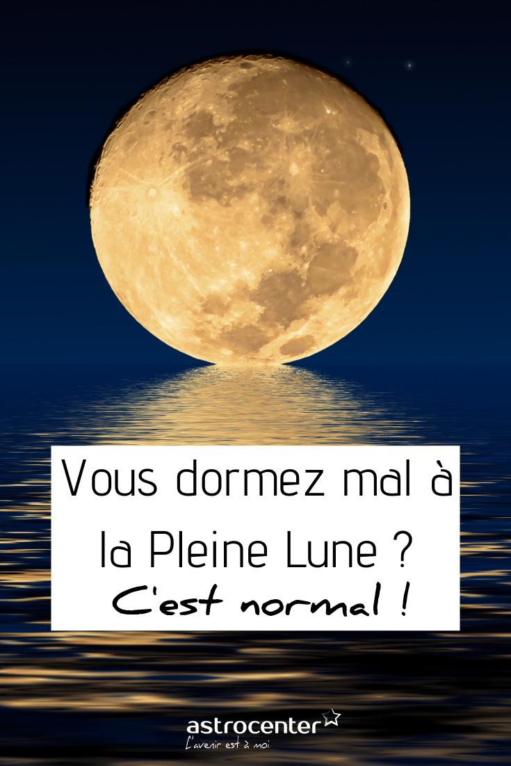 Pleine Lune et sommeil perturbé : scientifiquement prouvé
