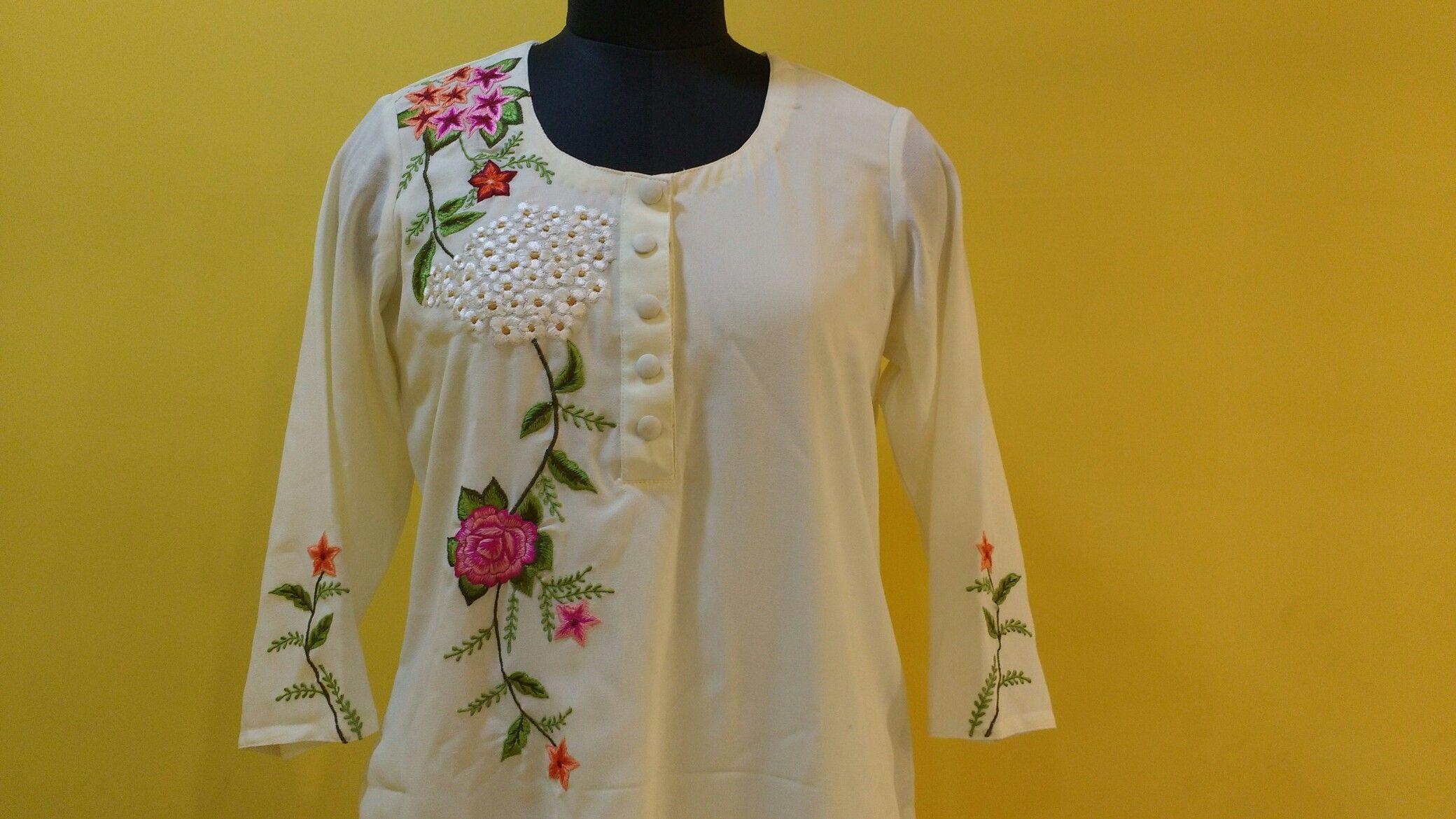 Embroidery - Elegant & Simple