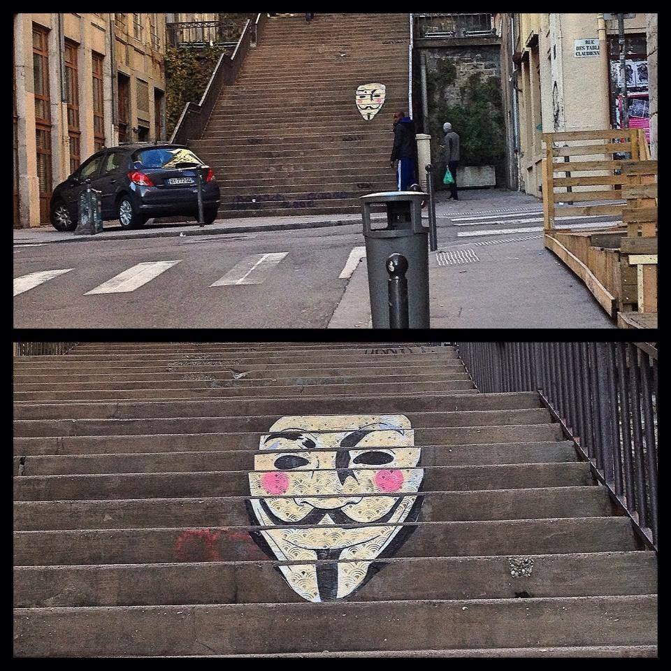 rue Pouteau #Lyon par Don Mateo