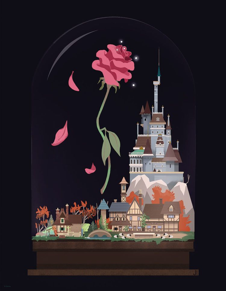 Exclusive Be Our Guest An Art Tribute To Disney S Beauty And The