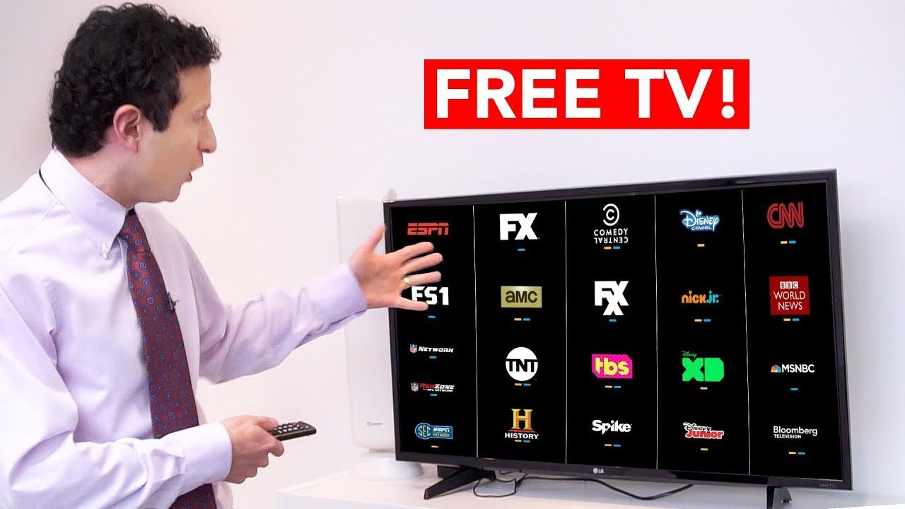 GET FREE TV with this AMAZING ANTENNA HACK! Tvs, Digital