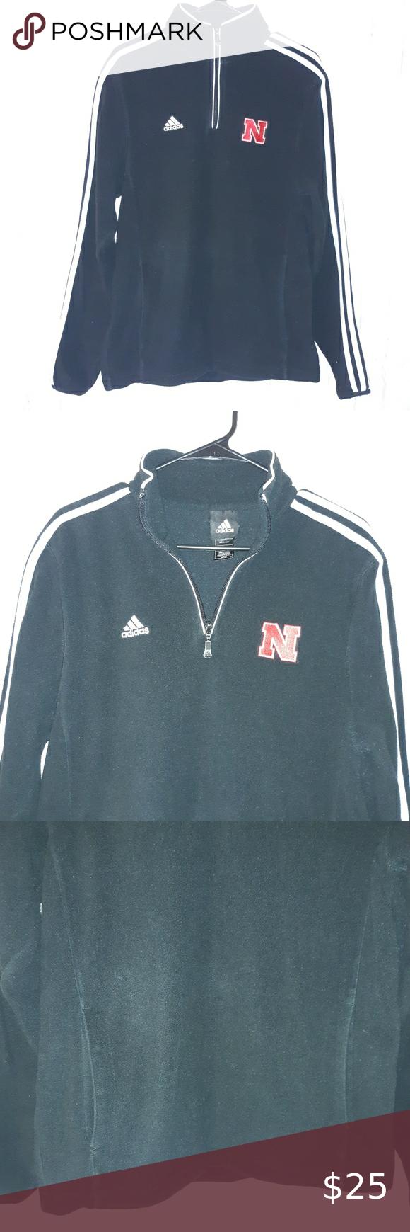 Adidas Nebraska Quarter Zip Fleece Sweater Red Adidas Hoodie Fleece Sweater Adidas Crop Sweater [ 1740 x 580 Pixel ]