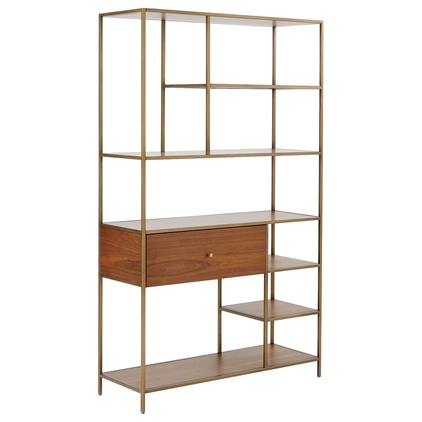 Buywest Elm Nook Wide Storage Bookshelf Online At Johnlewiscom
