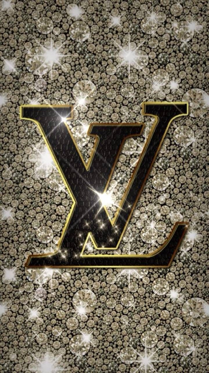Gold Glitter LV wallpaper by societys2cent - e50a - Free on ZEDGE™