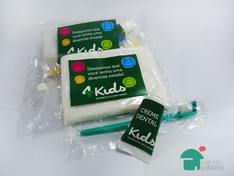 Kit Dental - Para Dentistas, Hoteis, Escolas, Creches e todo negócio que trabalha com público infantil - Gift Corporativo / Brindes Corporativos / Brindes Empresariais / www.estudiocabana.com.br