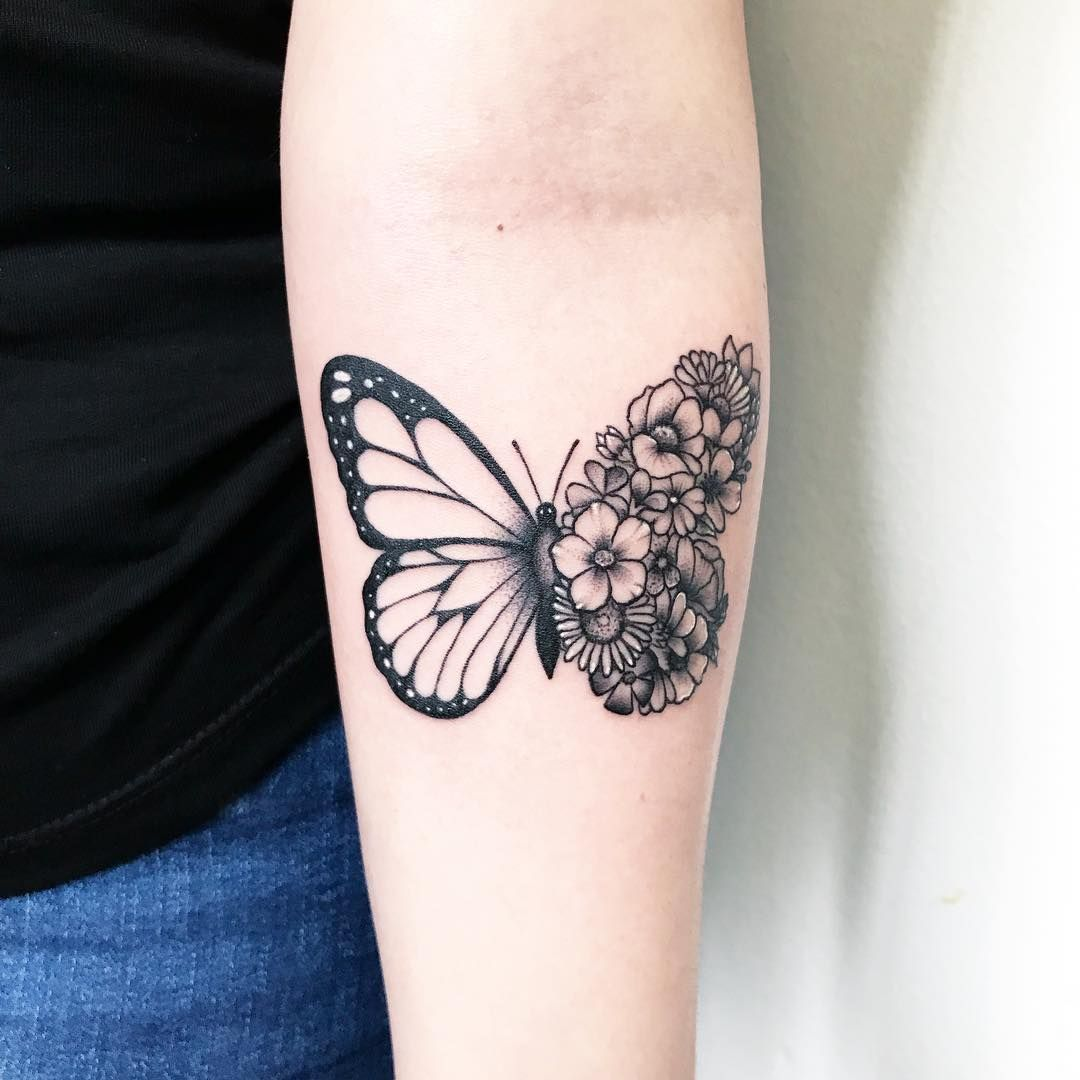 Photo of Butterfly Tattoo Ideas for Depicting Transformation – Page 2 of 30 – tracesofmybody .com