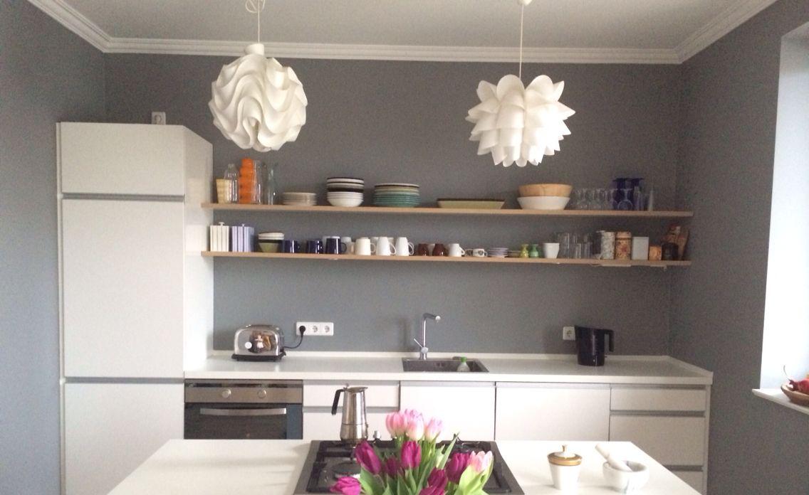 kitchen painted in farrow plummett berlin interiors