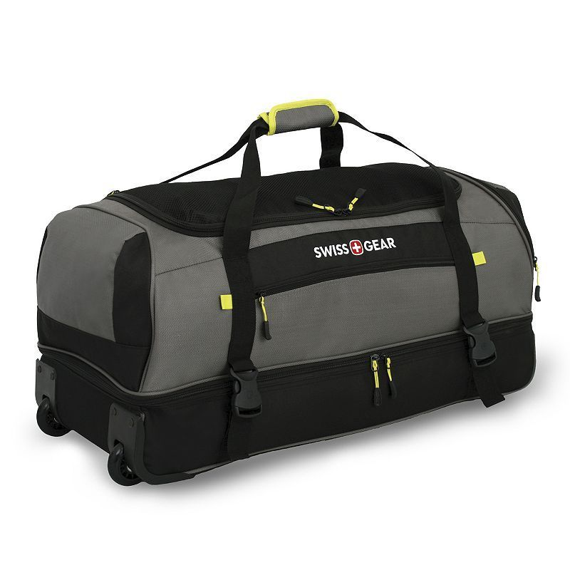 28 Inch Wheeled Drop Bottom Duffel Bag