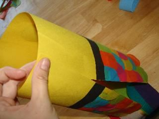 Bricolage Manche A Air Carp Kite Craft