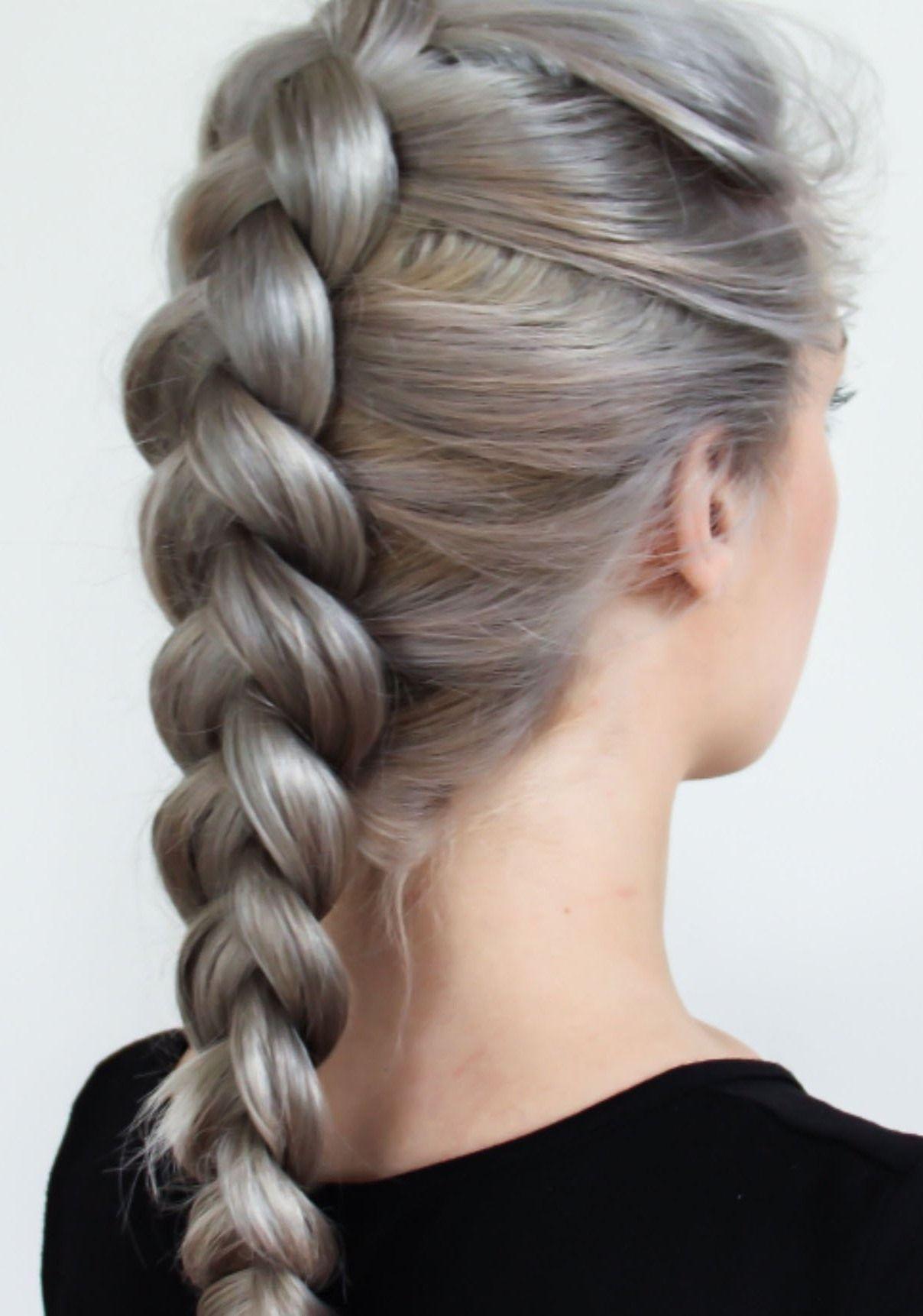45 Easy Braid Frisuren Mit Wie Man Sie Macht Neue Frisurentrends Braided Hairstyles Hair Styles Cool Easy Hairstyles