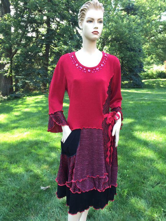 Plus Size Kleid 2 X Größe 20w 22W 24W von DesignbyNatalia ...