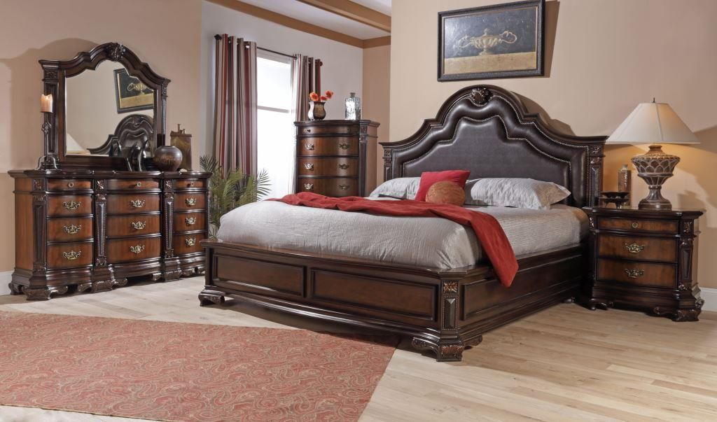 Lifestyle C4258a King Bedroom Group At Royal Furniture