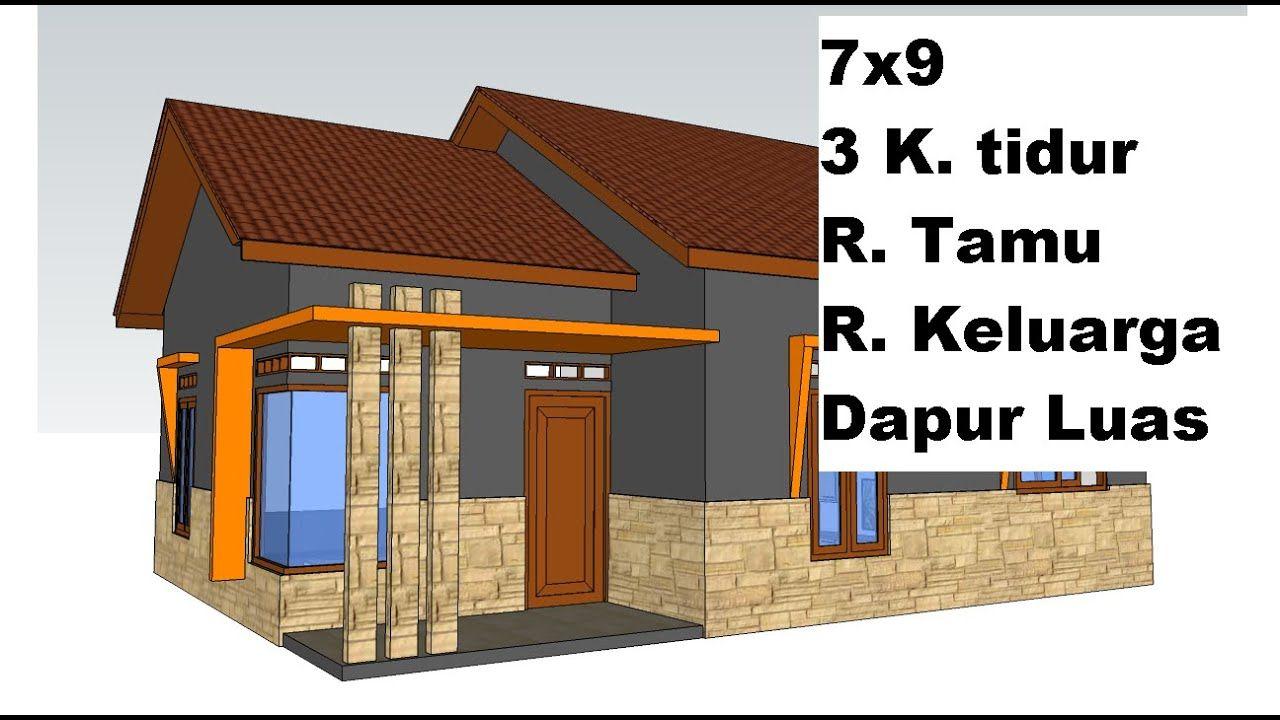 Rumah Minimalis 3 Kamar Tidur Youtube Rumah Minimalis Denah Rumah Pedesaan Rumah