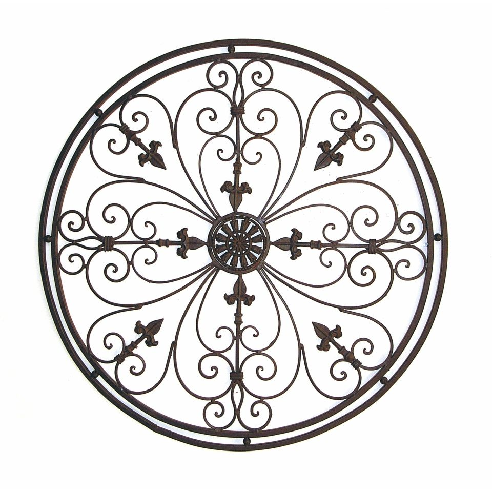 Fake wrought iron decorations for wall stunning 60 metal outdoor wall decor decorating design of best 25 amipublicfo Gallery