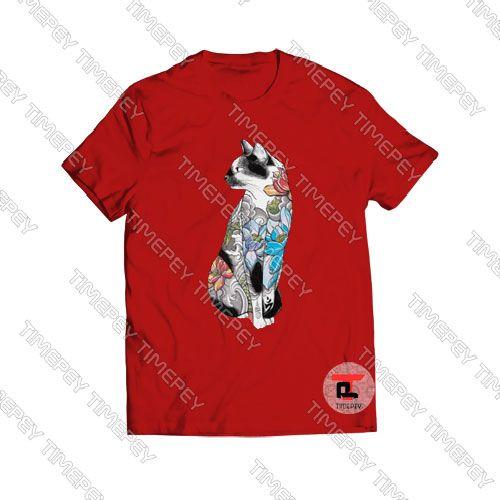 , Cat in Lotus Tattoo Viral Fashion T Shirt, My Tattoo Blog 2020, My Tattoo Blog 2020