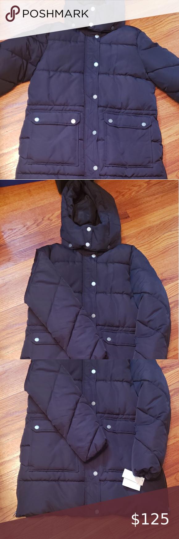 Lucky Brand 2 Pocket Puffer Coat Black Medium Plus Size Nwt Warm Lucky Brand Jackets Coats Puffers Puffer Coat Lucky Brand Red Puffer Jacket [ 1740 x 580 Pixel ]