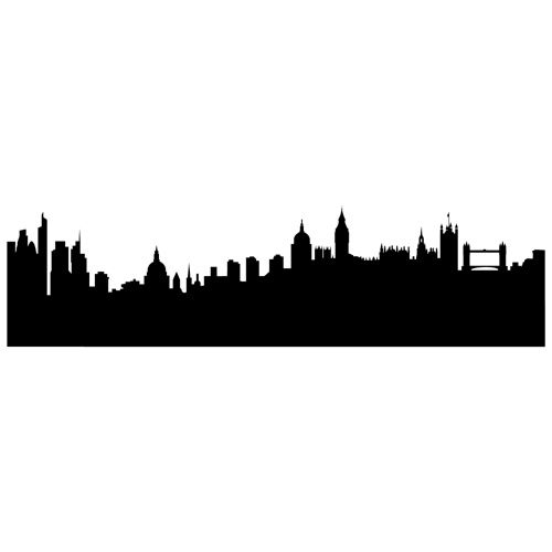 Pin By Joanne Cook On Berties Room Mary Poppins Silhouette London Skyline Silhouette Skyline Silhouette