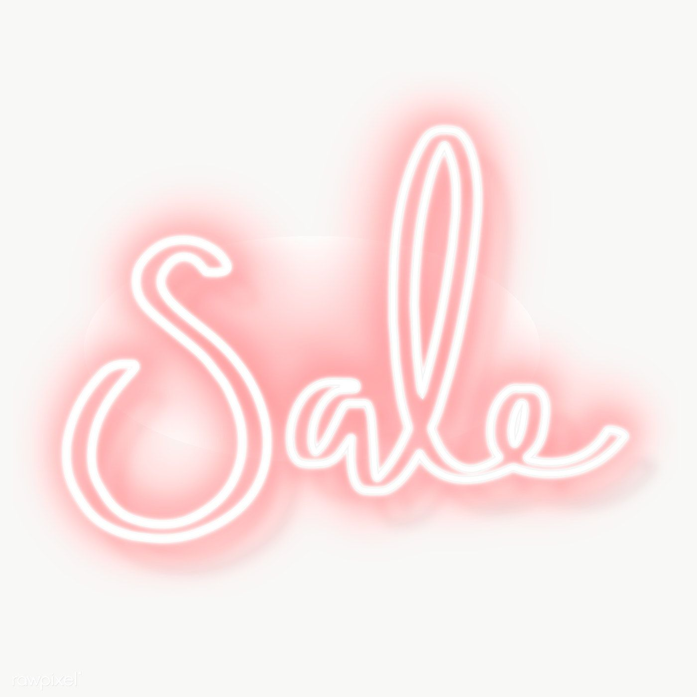 Pink Sale Neon Sign Transparent Png Free Image By Rawpixel Com Aew Neon Signs Neon Pink Sale